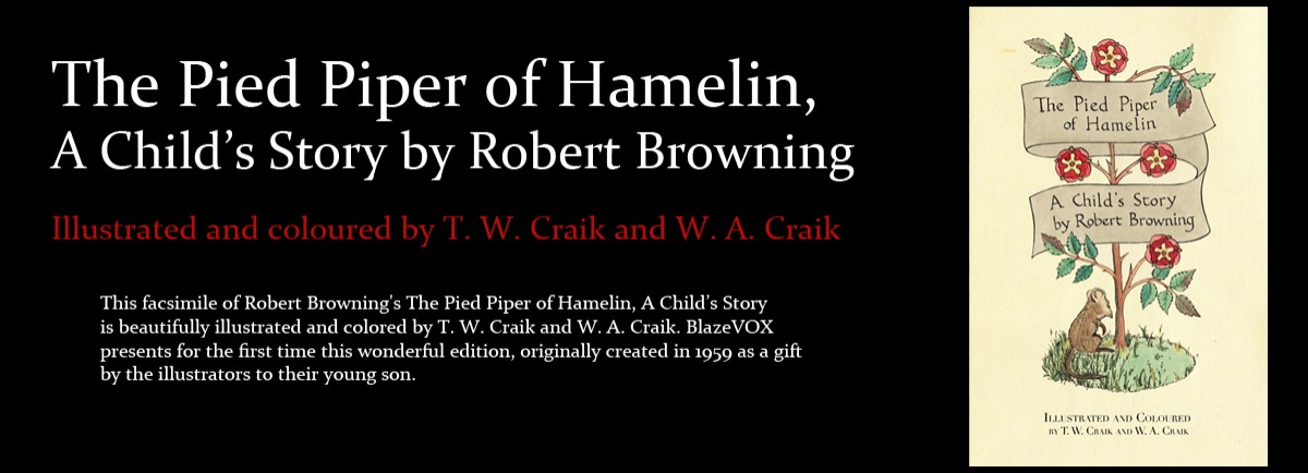 Robert Browning's The Pied Piper of Hamelin, A Child's Story